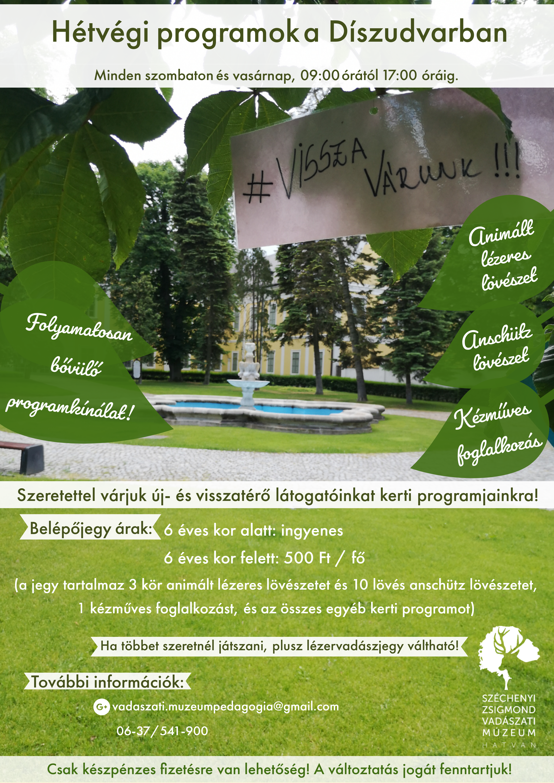 Turista Magazin - Nyárbúcsúztató lehetőségek - hétvégi programajánló